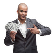 Black businessman — Stock Photo