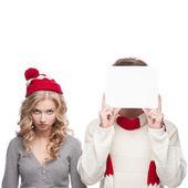 R u ready 4 christmas sales!? — Stock Photo