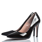 Pair of female high heel shoes — Foto Stock