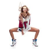 Meisje hip-hop danser — Stockfoto