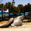 Wright Whales at Neptune Park — Stock Photo
