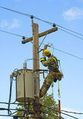 Lineman — Stock Photo