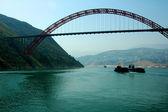 çin'de köprü — Stok fotoğraf