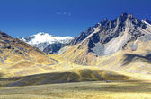 Andes mountains in Peru — Stock Photo