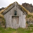 Traditional Icelandic Turf House — Stock Photo #14738709