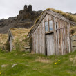 Stock Photo: Traditional Icelandic Turf House