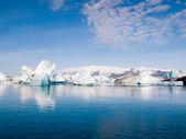 Icebergs On The Sea — Stock Photo