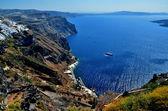 Villaggio di pescatori di mare — Foto Stock