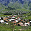 Stock Photo: In Georgia, Kazbegi
