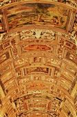 Vatican Museums - Gallery of the Geographical Maps — Stock Photo