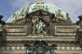 Berlin Cathedral (Berliner Dom) in Berlin, Germany — Stok fotoğraf