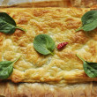 Royalty-Free Stock Photo: Spinach pie with cheese
