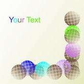 Colores y formas. vector — Vector de stock