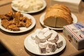 International food's evening — Foto Stock