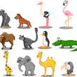 Royalty-Free Stock Vector Image: Set of vector animals