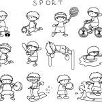 体育图标 — 图库矢量图片 #13735881