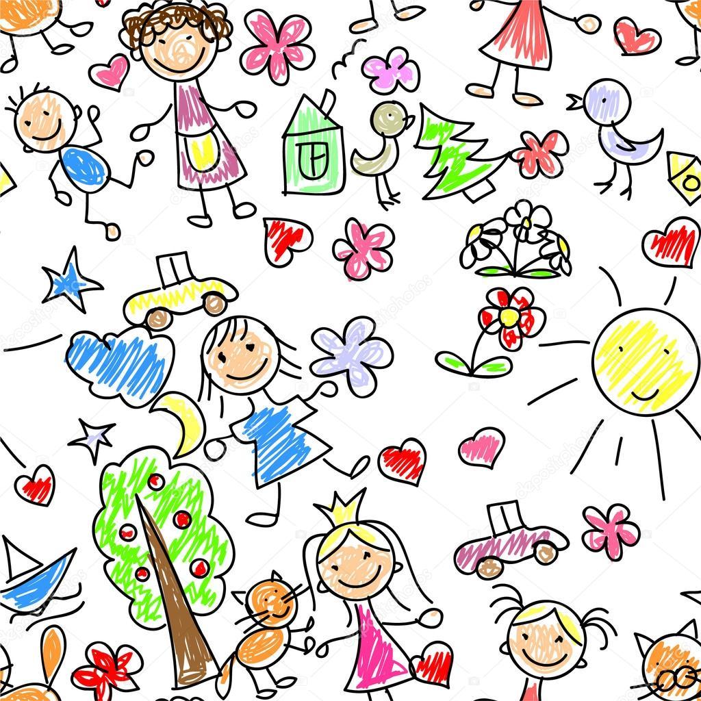 картинки рисунки детские: