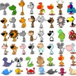 Vector de stock : Cartoon animals