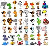 Kreslené zvířata — Stock vektor