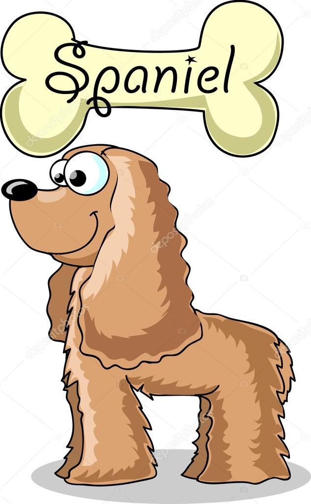 Dessin anim chien race cocker spaniel image vectorielle - Dessin de cocker ...