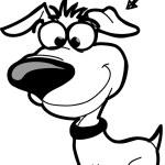 Fun dog — Stock Vector