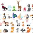 Various animals set - Stock Vector