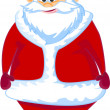 Cartoon Santa claus - Image vectorielle