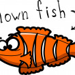Cartoon clown fish — Stockvector #18768599