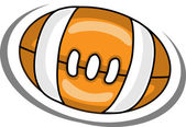 Kreskówka piłka — Wektor stockowy