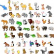 Large set of animals - 