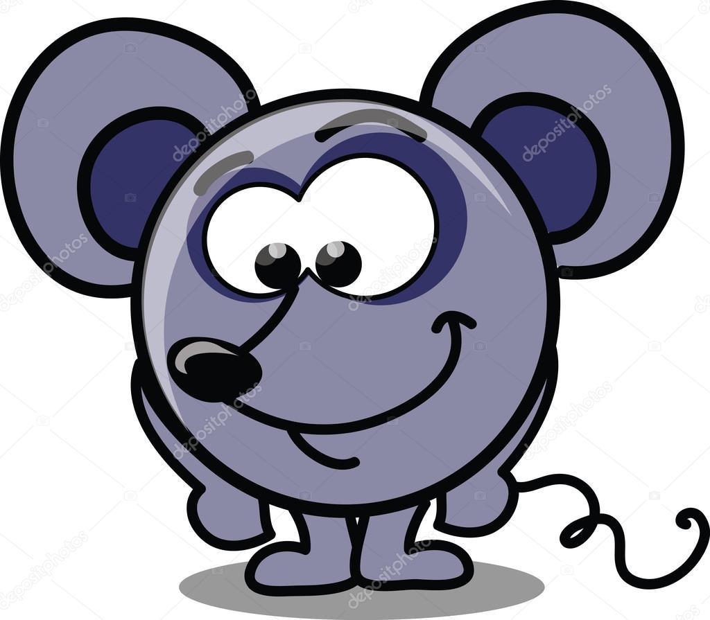 卡通矢量鼠标 — 图库矢量图像08