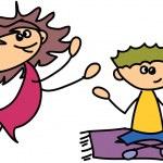 Cute happy kids — Stock Vector #22561271