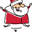 Royalty-Free Stock Vector Image: Cartoon Santa