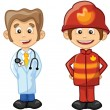 People different professions - Stock Vector
