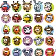 Royalty-Free Stock Immagine Vettoriale: Cartoon vector animals