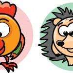 Cartoon vector animals — Stock Vector #24083125