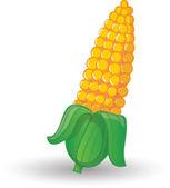 Cartoon corn — Stock Vector