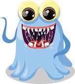 Cartoon cute monster — Stock Vector