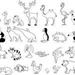 Set of animals — Stock Vector #36344787