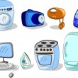 Household appliances — Stock Vector #36344941