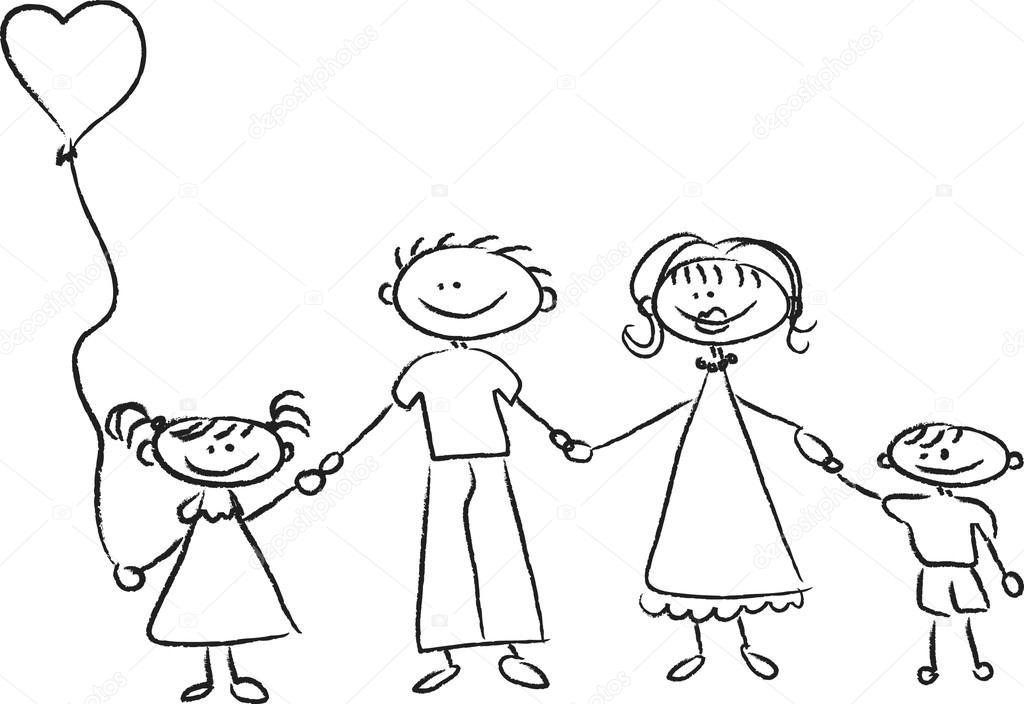 Рисунки карандашом своими руками для родителей
