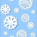 Christmas snowflake — Stock Vector