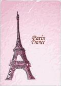 Travel to Paris — Stock Vector