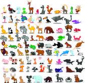 Cartoon animals — Stock Vector