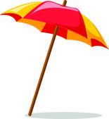 Travel icon, umbrella — Stock Vector