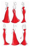 Módní ženy — Stock vektor