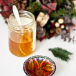 Royalty-Free Stock Photo: Christmas honey