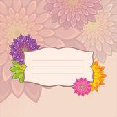 Diseño de la flor — Vector de stock
