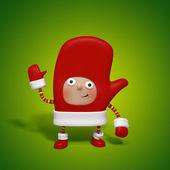 Christmas character — Stock Photo