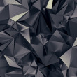 Abstract black cosmic futuristic texture - Stock Photo